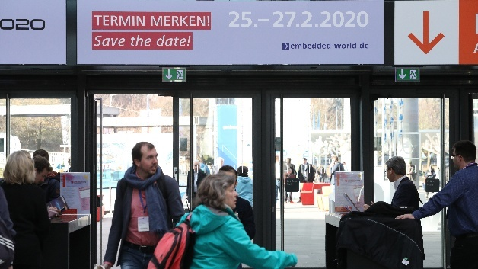 Die embedded world 2020 findet vom 25.-27.02. in Nürnberg statt.