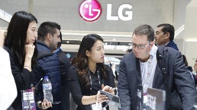 LG auf dem Mobile World Congress 2019