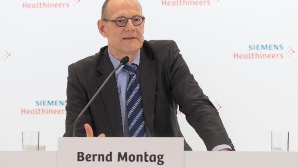 Bernd Montag, CEO Siemens Healthineers AG