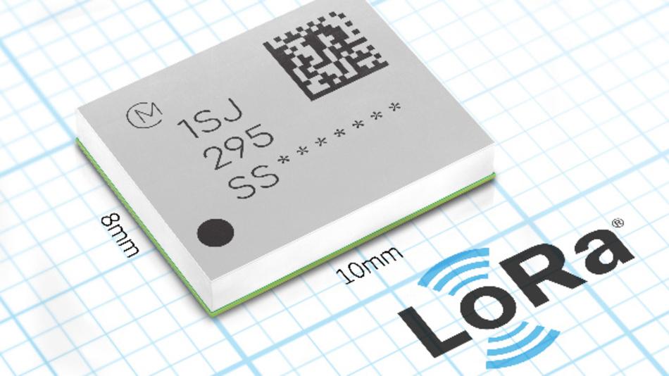 Das für den Einsatz auf der ganzen Welt konzipierte Modul unterstützt ISM-Bänder von 868 MHz bis 916 MHz, darunter jene, die in Europa, den USA, Indien und China sowie im pazifischen Raum gebräuchlich sind.