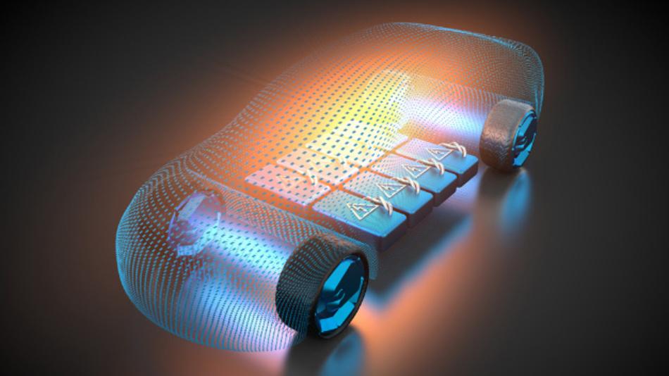 Höhere Reichweite bei E-Autos durch effizientes Energiemanagement.