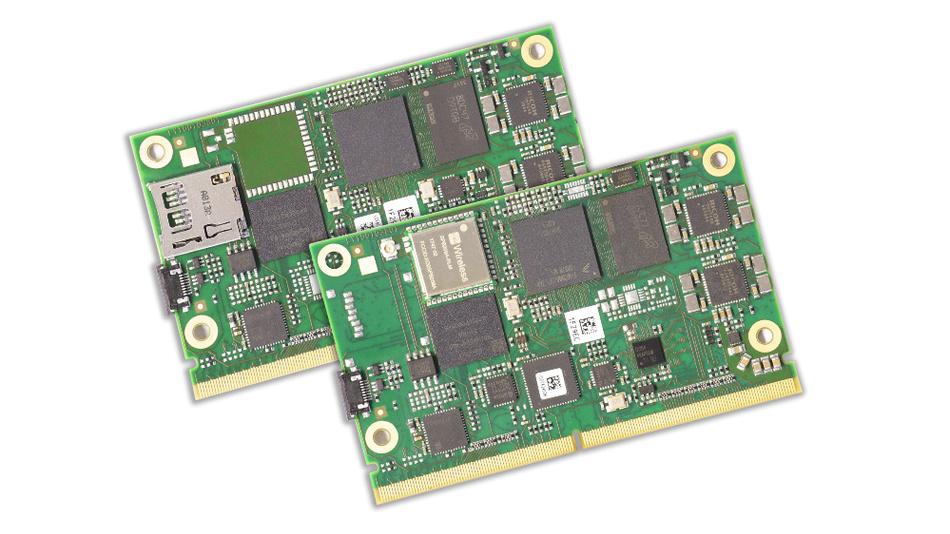 Bild 1. Die SMARC-2.0-Modulfamilie »MSC SM2S-IMX8MINI« integriert i.MX-8M-Mini-Prozessoren von NXP.