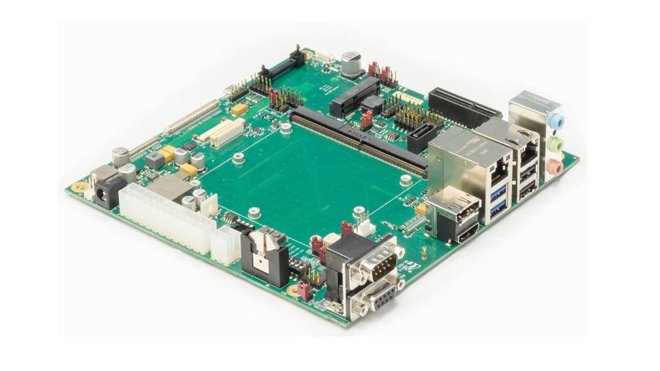 Bild 3. Die Entwicklungsplattform »MSC SM2-MB-EP1« erlaubt ein schnelles Design i.MX8-basierter Anwendungen.