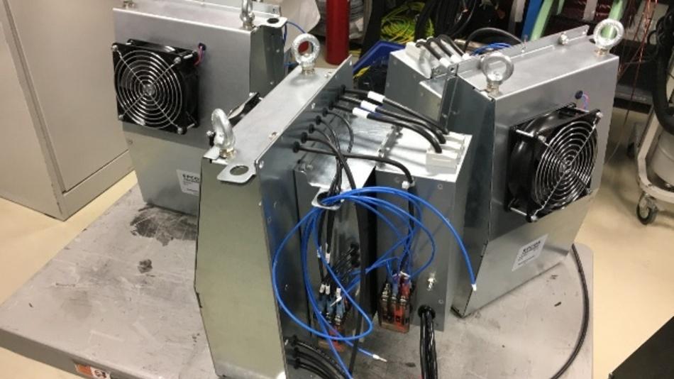 Kombinierte EPCOS EMV- und Oberschwingungsfilter für die Schneekanonen des Typs TR08 von TechnoAlpin.