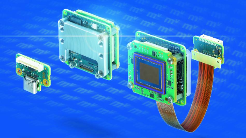 Die Boardlevel-Kameras der Serie »mvBlueFOX3-5M« eröffnen als Teil des Embedded-Vision-Baukastens von Matrix Vision viele Kombinationsmöglichkeiten.