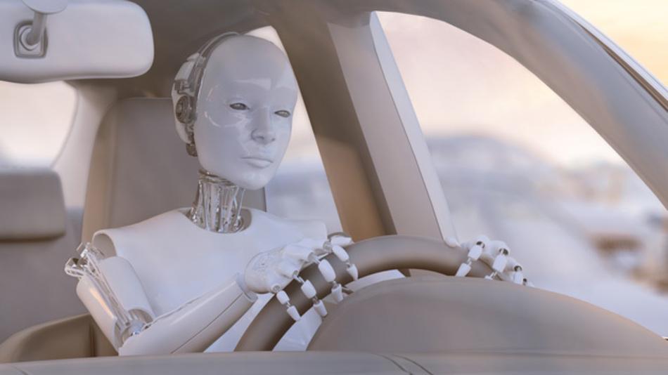 KI steuert KI - wenn Roboter autonome Fahrzeuge lenken.