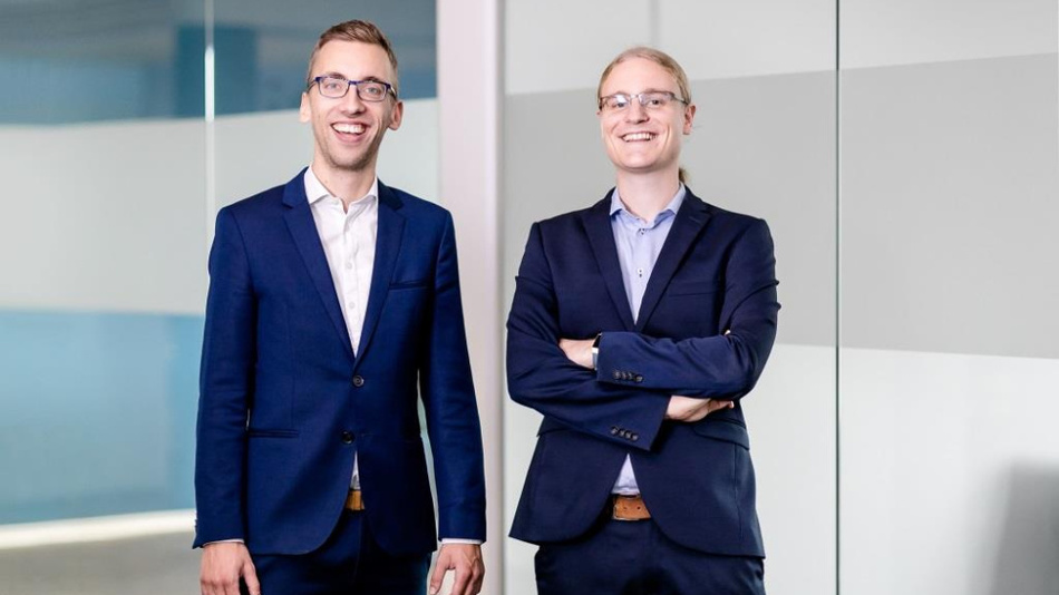 Christian Götz (left), founder and CEO and Dominik Obermaier (right), founder and CTO of HiveMQ.
