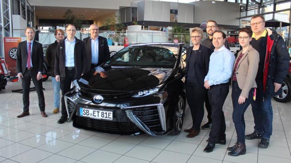 Die Hochschule für Technik und Wirtschaft des Saarlandes testet ab sofort den Toyota Mirai.