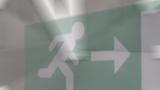 Fluchtweg Notausgang