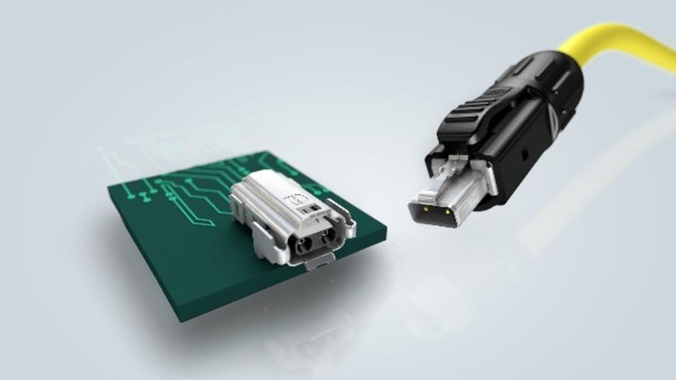 """Die IEC 63171-6 spezifiziert die Single-Pair-Ethernet-Schnittstelle """"Industrial Style"""" nach dem Vorschlag von Harting."""
