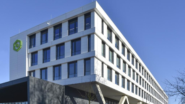 The new headquarters of Garz & Fricke in Hamburg-Harburg.