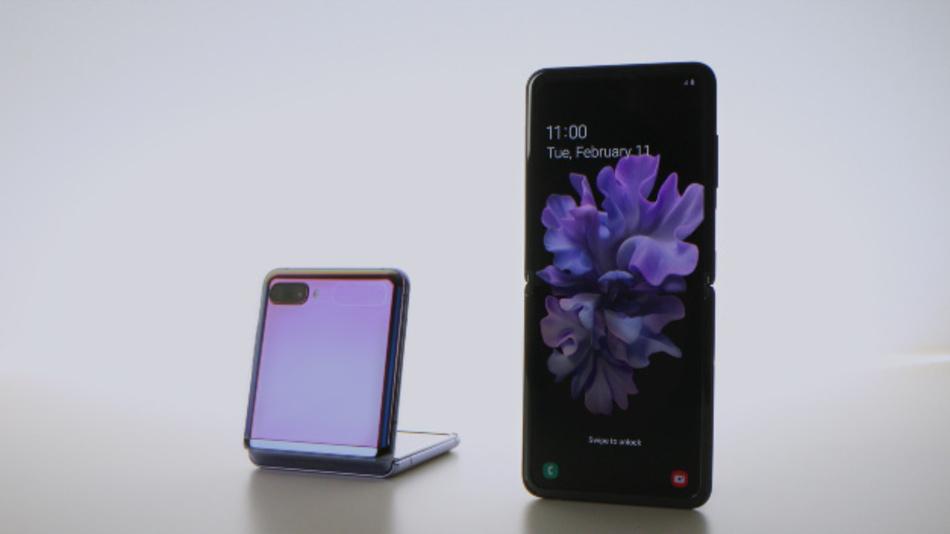 G+D Mobile Security hat die eSIM-Technologie in das »Galaxy Z Flip« von Samsung integriert.
