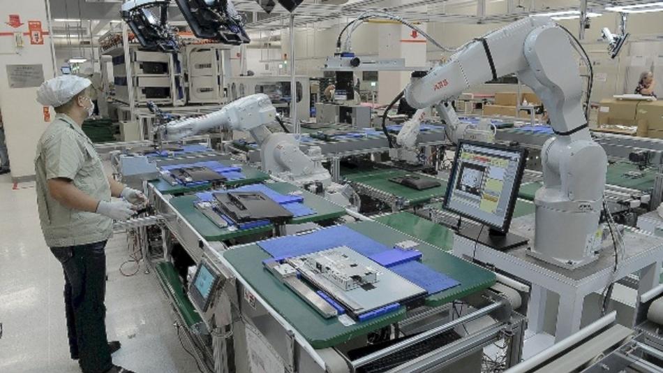 Bis 2022 werden bis zu zwei Millionen Industrie-Roboter in den Fertigungen weltweit neu installiert.