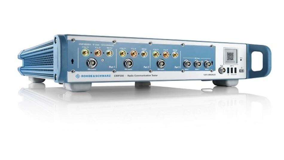 Rohde & Schwarz hat seinen Radio Communication Tester R&S CMP200 um UWB-Testfunktionalität erweitert.