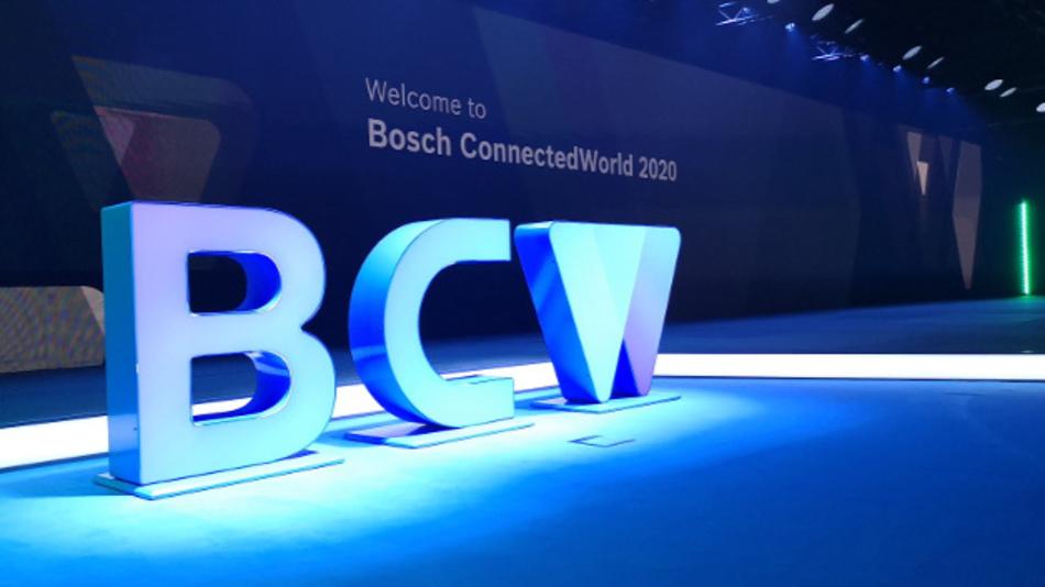 Die »Bosch Connected World 2020« (BWC) mit mehr als 3500 Teilnehmern und 170 Sprechern auf fünf Bühnen sieht sich selbst als führende Konferenz für IoT und digitale Transformation.