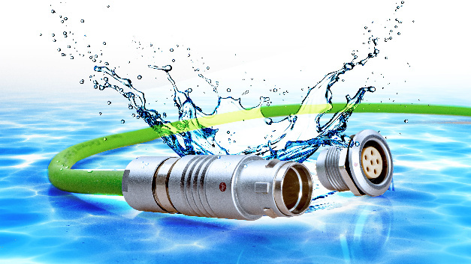 Push-Pull-Steckverbinder Y-Circ P in Schutzart IP68