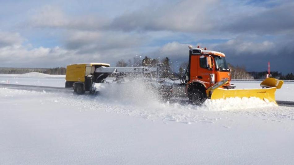 Die automatisierte Schneeräumung ist einer von vielen Anwendungsbereichen von AXYARD