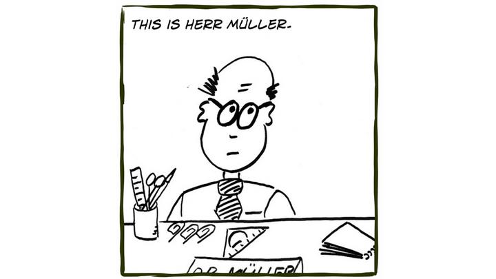 Dr. Müller & Kollegen - Comic von Andra Riemhofer