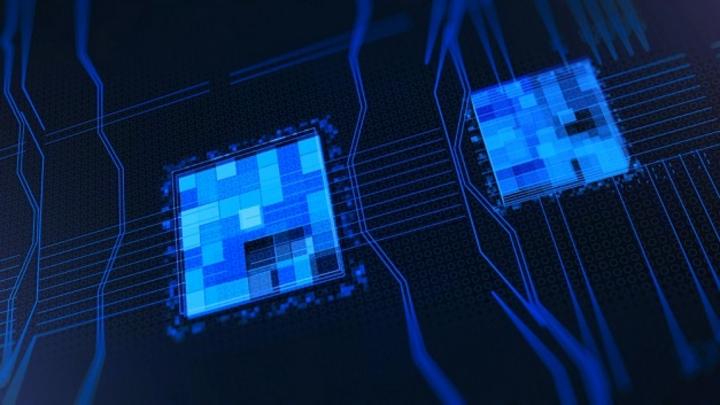 Processors CPU concept