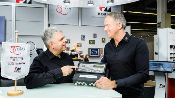 Udo Metzulat (links) und Thomas Lüke (rechts) von Bopla