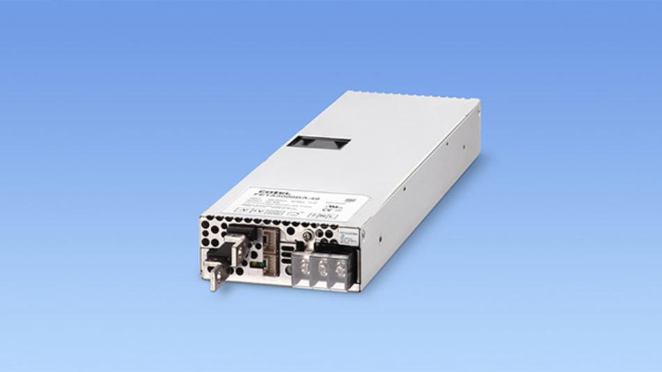 Das neue Netzteil FETA3000BA von Cosel ist SEMI F47-konform und kann Spannungsausfälle zuverläßig tolerieren.