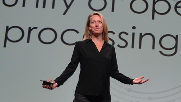 Calista Redmond, CEO der RISC-V Foundation.