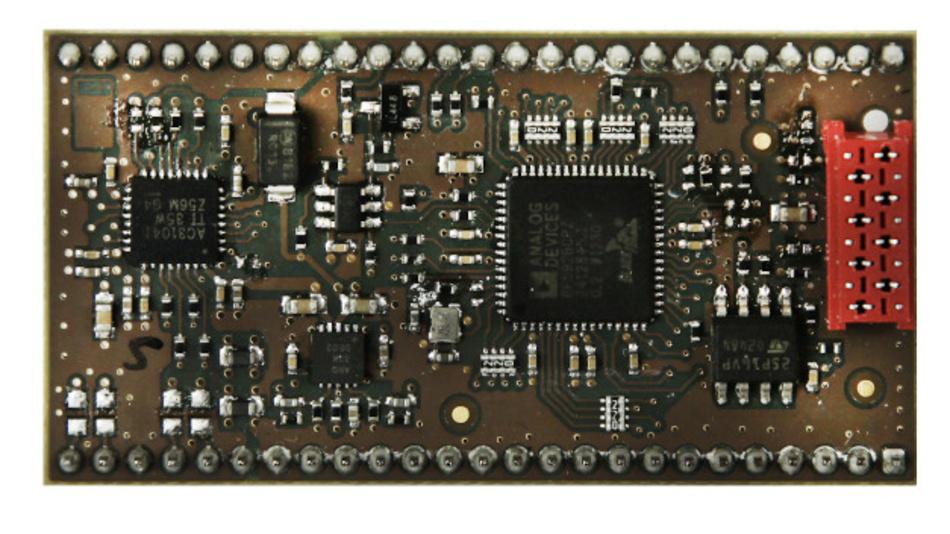 Eingangsmodul DSPE-592: ein kompaktes DSP-Modul für Telekommunikationsaufgaben