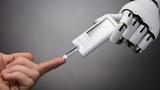 Roboter Blutzucker Messgerät