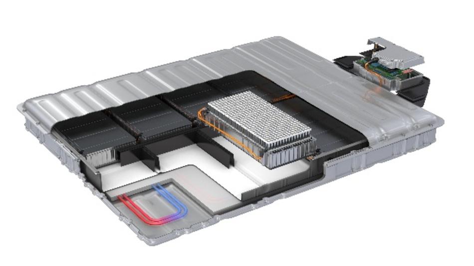 EV-Batteriesysteme mit zylindrischen Zellen erfordern Lösungen, die eine automatisierte Massenmontage ermöglichen - der Schwerpunkt der Partnerschaft von Covestro und Henkel.