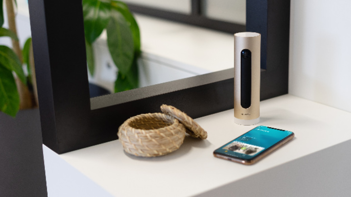 Netatmo Smarte Innenkamera Smart Home Smartphone