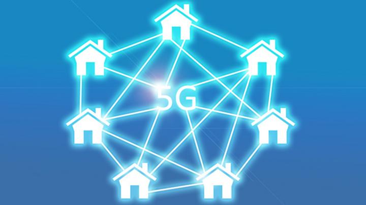 Symbolbild 5G Haus