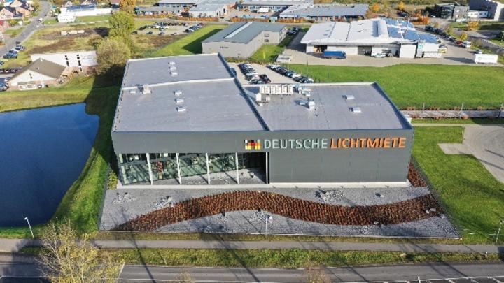 Neuer Standort der Deutschen Lichtmiete im Wirtschaftspark Sandkrug