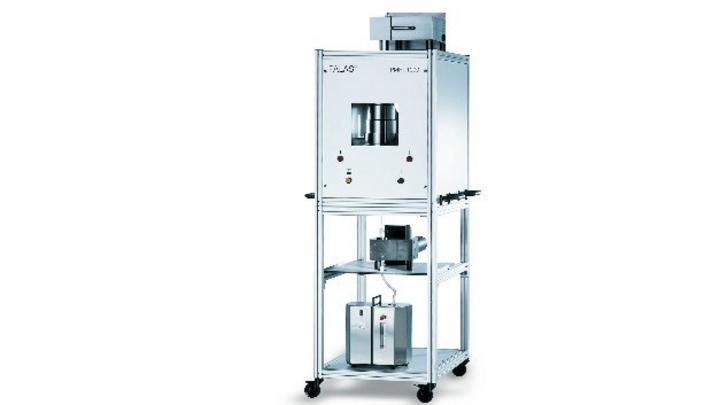 Der Atemmasken-Prüfstand PMFT 1000 von Palas ermöglicht eine zuverlässige Kontrolle der Filterleistung