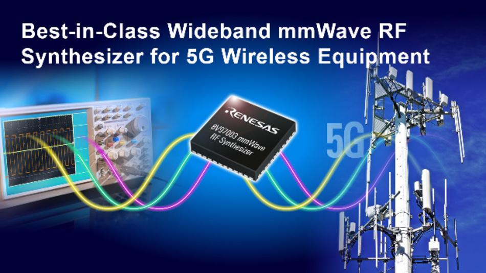 Hochintegrierter 8V97003 ermöglicht die nächste Generation von 5G-Funksystemen für Beamforming und MIMO-Anwendungen.