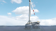 Die Plattform samt Turbine wird an ihren Ankerpunkt in einem Testfeld (BIMEP) etwa 3 km vor der baskischen Atlantikküste geschleppt, wo der Ozean rund 85 m tief ist. Die Anlage geht voraussichtlich im dritten Quartal 2021 in Betrieb und speist Elektr