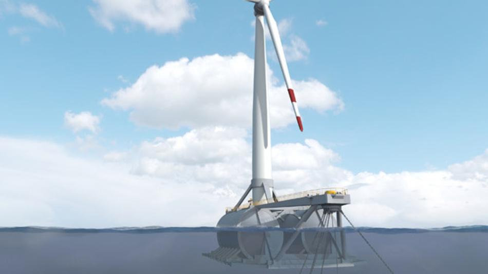 Die Plattform samt Turbine wird an ihren Ankerpunkt in einem Testfeld (BIMEP) etwa 3 km vor der baskischen Atlantikküste geschleppt, wo der Ozean rund 85 m tief ist. Die Anlage geht voraussichtlich im dritten Quartal 2021 in Betrieb und speist Elektrizität ins spanische Stromnetz ein.
