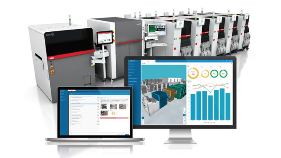 Die 3D-Visualisierung über fabLIVE ist neben ASM Equipment Center auch im MES von Critical Manufacturing nutzbar.