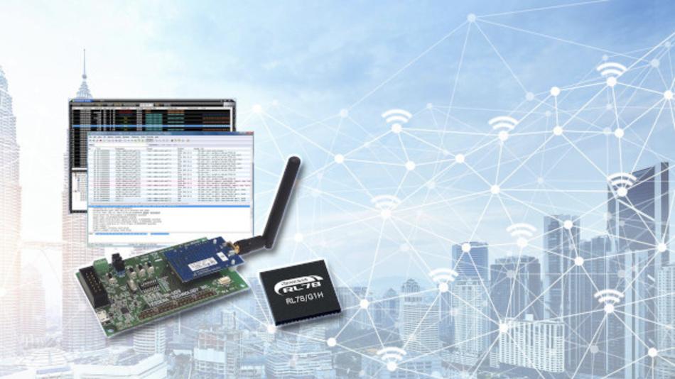 Zertifiziert von der Wi-SUN Alliance für Wi-SUN FAN: Evaluierungsmodul TK-RLG1H+SB2 von Tessera Technology – basierend auf dem Mikrocontroller mit integriertem Funktransceiver RL78/G1H von Renesas – mit dem Wi-SUN-FAN-Software-Stack.