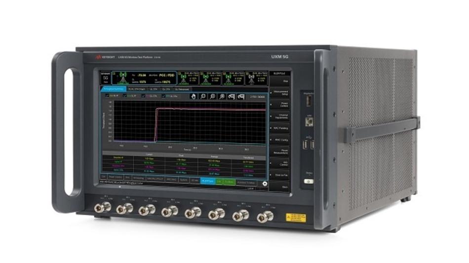 Die UXM 5G Wireless Test Platform Toolset ist ein Bestandteil des 5G Device Benchmarking Toolsets Keysight.