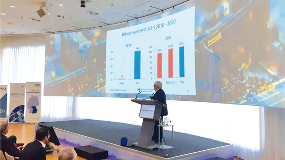 »Wir denken nicht groß, sondern zu kleinkariert«, warnt Hans Joachim Friedrichkeit, Inhaber von PCB Network, auf dem Leiterplattenforum Bayern Innovativ.