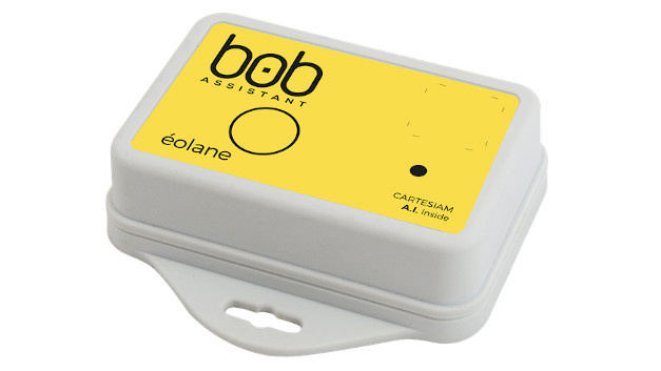 Batteriebetriebener Funksensor für LoRa mit KI für Condition Monitoring.