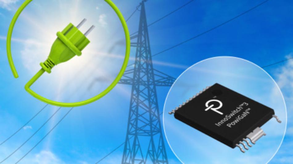 Dank der PowiGaN-Technologie ist es möglich, mit InnoSwitch3-ICs Netzteile mit einem Wirkungsgrad von 94 % zu realisieren, die für Regionen mit häufigen Netzausfällen und Spannungsspitzen geeignet sind.