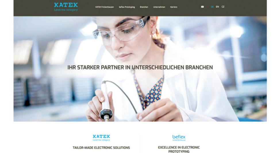 Neues Look & Feel auch auf der Website der Katek Frickenhausen