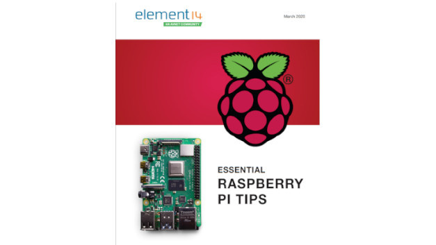 Das Cover des neuen E-Books »Essential Raspberry Pi Tips«.