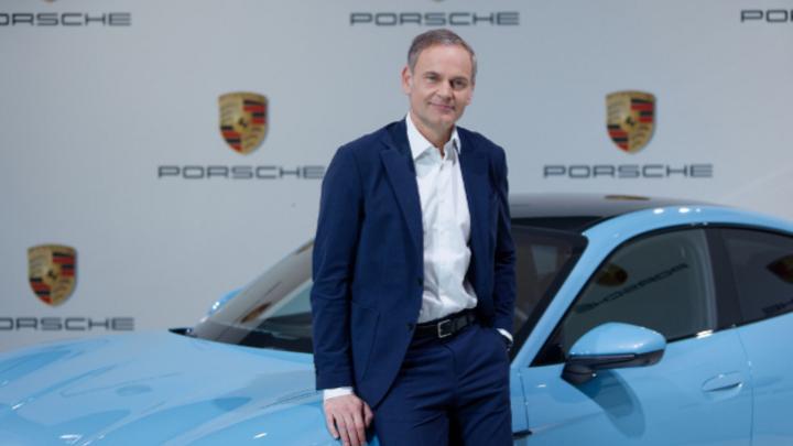 Oliver Blume, Vorstandsvorsitzender der Porsche AG: »Unser zentrales Ziel ist wertschaffendes Wachstum. Unser Ergebnis haben wir in den letzten fünf Jahren um mehr als 60 Prozent gesteigert.«