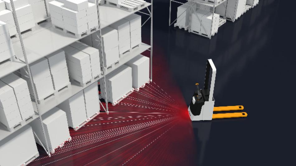 Die Software-Komponente »Locator« verschafft mobilen Roboterfahrzeugen Orientierung.