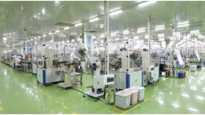 Hongfa-Fertigung in China