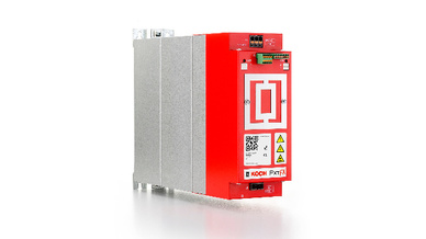 PxtFX ist eines der drei Mitglieder der Gerätefamilie Pxt. Das Bild zeigt ein PxtFX-Gerät mit vier Kilowattsekunden Speichervolumen.