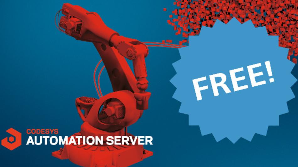 Codesys-Anwender können ab sofort kostenlos die Möglichkeiten der Industrie-4.0-Plattform »Codesys Automation Server« nutzen.