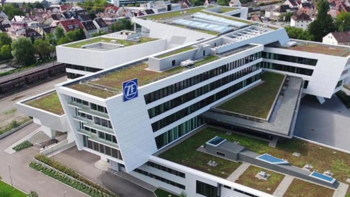 Die Konzernzentrale von ZF in Friedrichshafen.